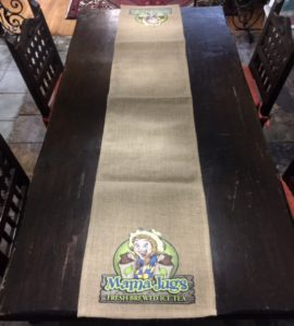 mama jugs table runners