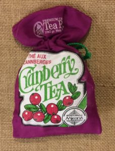 mlesna cranberry tea